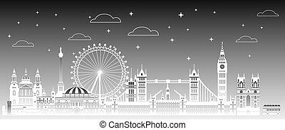 3, ロンドン, 都市, 勾配