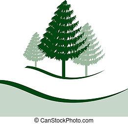 3, 木, 松
