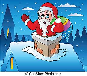 4, 主題, 冬, クリスマス場面