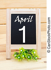 4 月, 第1, day., fool's
