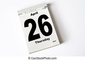4 月, 26., 2012