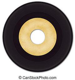 45rpm, ビニールレコード