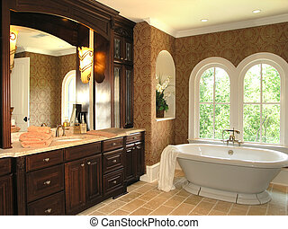 5, 浴室, -, 贅沢, 3