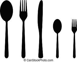 5, cutlery