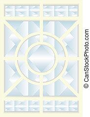 5., windows., ステンドグラス