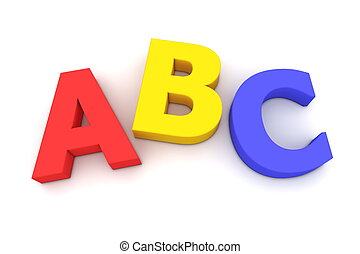 abc, カラフルである