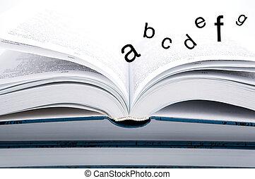 abc, 本, ページ