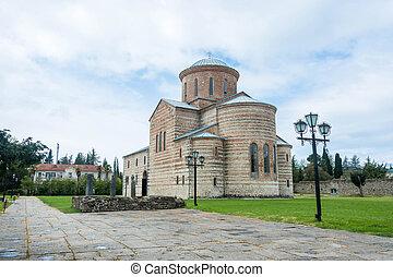 abkhazia., pitsunda, st. アンドリュー, 使徒, 大聖堂, 名誉