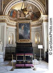 achillion, 宮殿, corfu, -, ギリシャ, チャペル