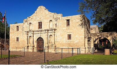 alamo, 歴史的, antonio, san, テキサス
