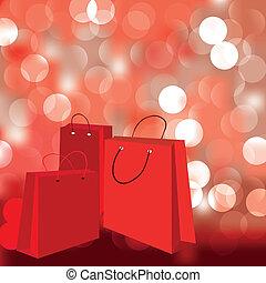 b, 抽象的, 背景, 買い物