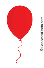 balloon, 赤