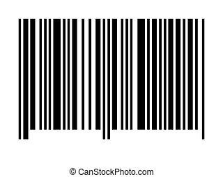 barcode, 空