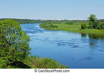 belarus, 川, dvina, 西部