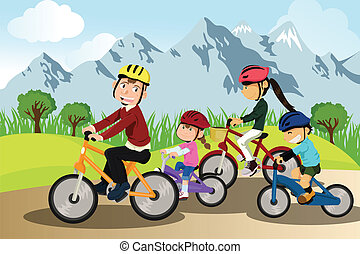 biking, 家族