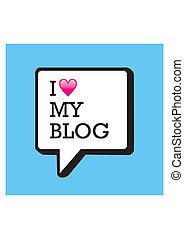 blog, 泡, 私, 愛