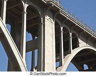 blvd, 橋, パサディナ, カリフォルニア, colorado