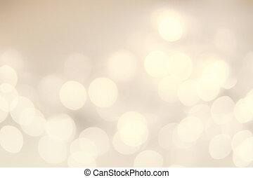bokeh, lights., 背景, 焦点がぼけている, クリスマス, 型