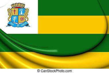 brazil., 旗, aracaju