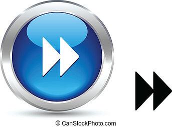 button., 前方へ