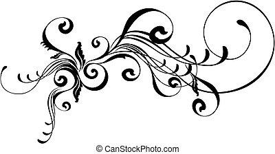 caligraphic, 装飾