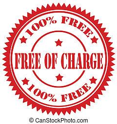 charge-stamp, 無料で