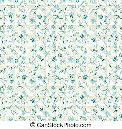 checkered, 層にされる, 抽象的, イラスト, 定型, ベクトル, florals., 三角形