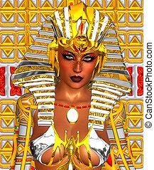 cleopatra, 女, ファラオ, ∥あるいは∥, エジプト人