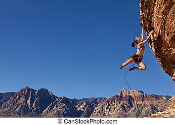 climber., 息もつけないほど, 岩