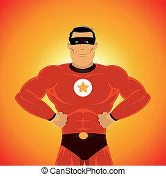 comic-like, スーパーヒーロー