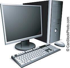 computer., デスクトップ