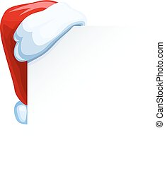 corner., 帽子, claus, こつ, santa