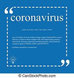 coronavirus, 定義