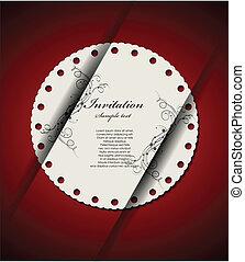 decoretive, カード, 招待