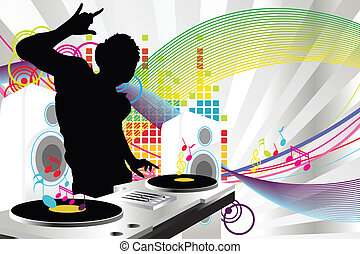 dj, 音楽