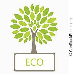 eco, ベクトル, 木