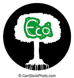 eco, 円, 木