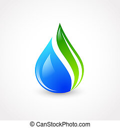 eco, 水滴