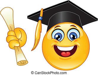 emoticon, 卒業