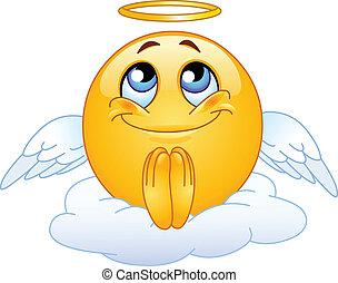 emoticon, 天使