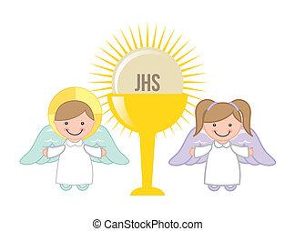 eucharist, デザイン