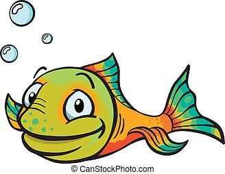 fish, 漫画, 幸せ