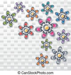 flowers., コレクション, カラフルである