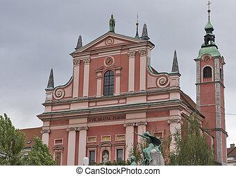 franciscan, ljubljana, お告げの祝日, 教会