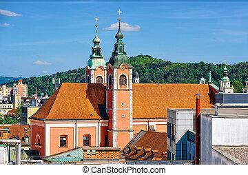 franciscan, ljubljana, annuncia, 教会