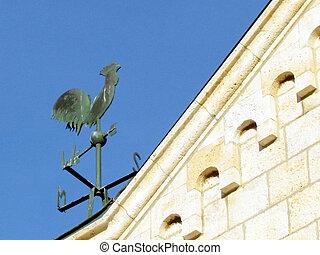 franciscan, weathercock, 教会, jaffa, 2011