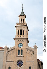 frane, st. 。, 分裂, croatia., 修道院, 教会