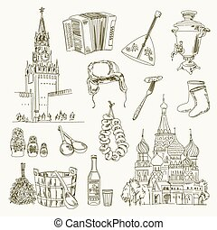 freehand, 図画, ロシア, 項目