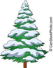fur-tree, 雪