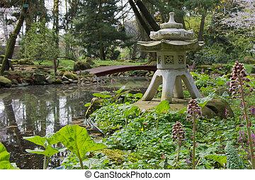 garden., japanese-style